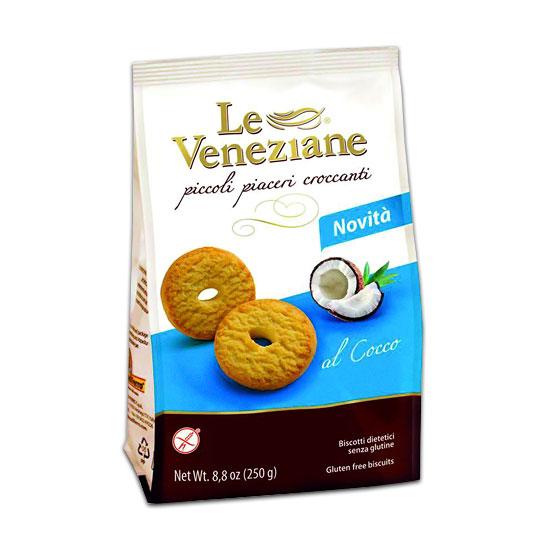 Biscotti al Cocco 250 g Glutenfrei LE VENEZIANE