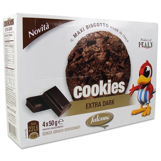 Cookies Extradark 200 g FALCONE