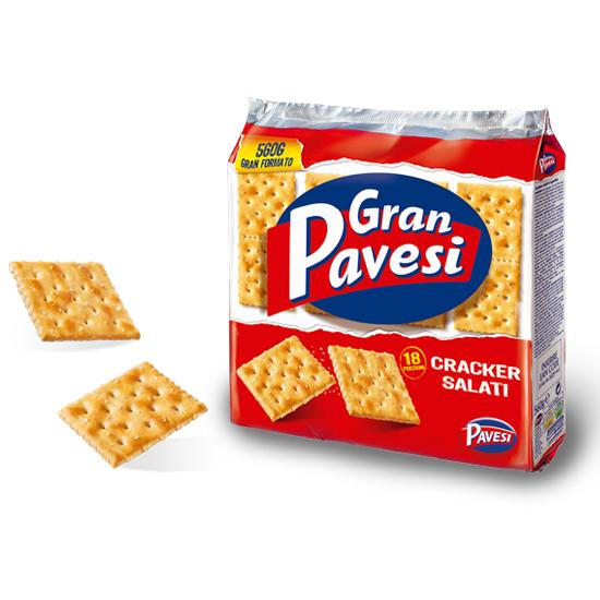 Gran Pavesi Crackers Salati 560 g PAVESI