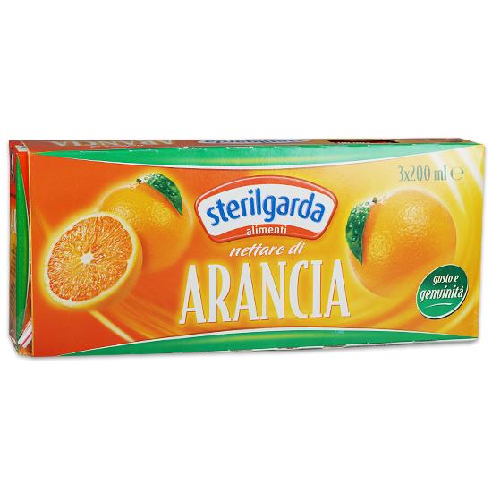 Nettare di Arancia 3 x 200 ml STERILGARDA