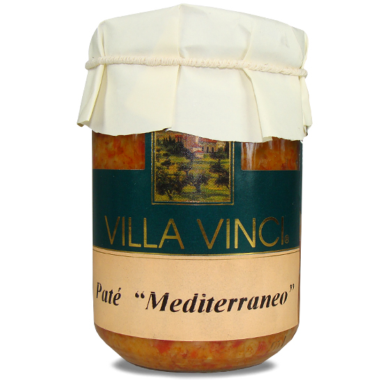 Pate Mediterraneo Villa Vinci 130 g SUD ITALIA