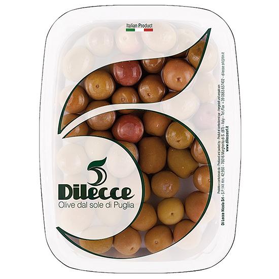 Olive Pasola 600 g DI LECCE / Oliven Pasola