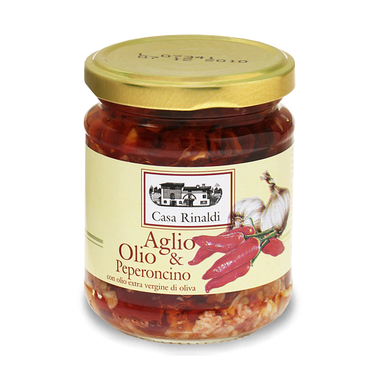 Aglio olio e peperoncino / Salsasoße 190 g CASA RINALDI