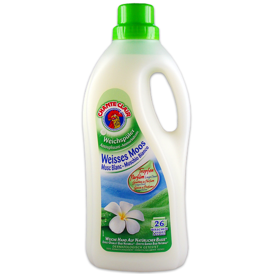 Ammorbidente Muschio Bianco 1560 ml CHANTE CLAIR