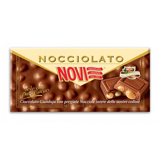 Nocciolato Gianduja / Schokolade mit Haselnüsse 130 g NOVI