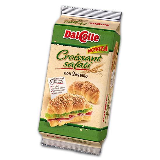 Croissant Salato con Sesamo 240 g DAL COLLE