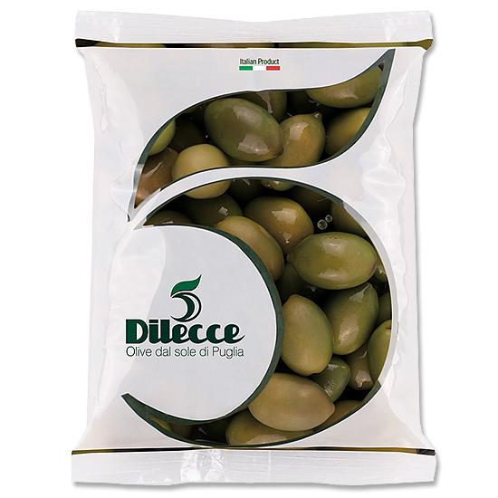 Olive Verdi Dolci / grüne Oliven 500 g DI LECCE