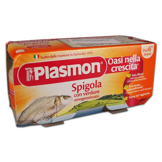 Plasmon Omo Spigola e Verdura 2x80 g