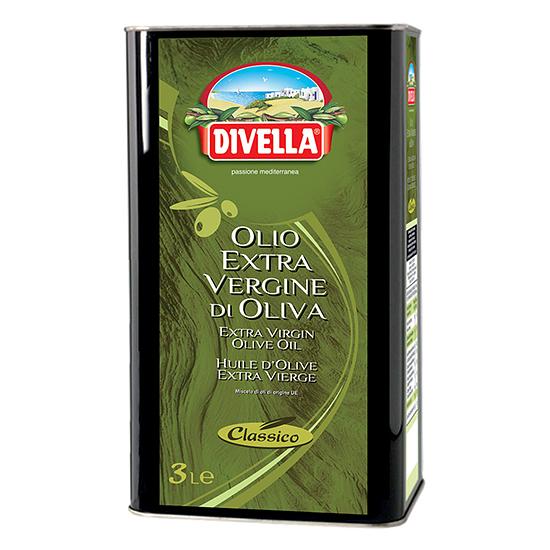 Olio Extra Vergine di Oliva Classico / Extra Natives Olivenöl 3 L DIVELLA