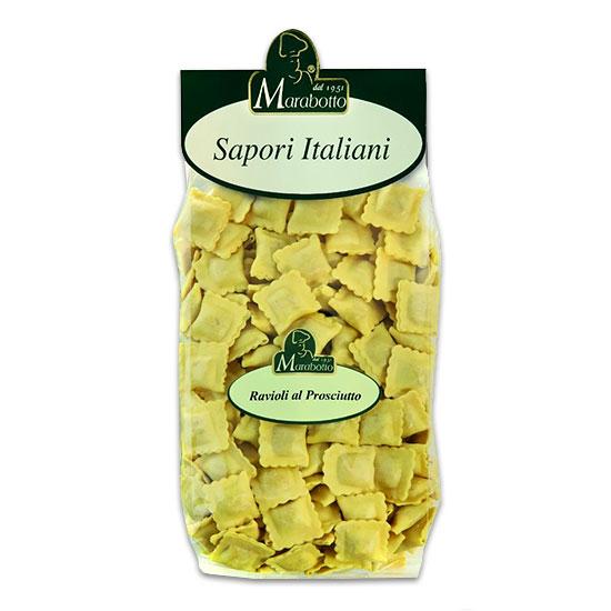 Ravioli al Prosciutto Crudo / Ravioli mit Rohschinken 500 g MARABOTTO