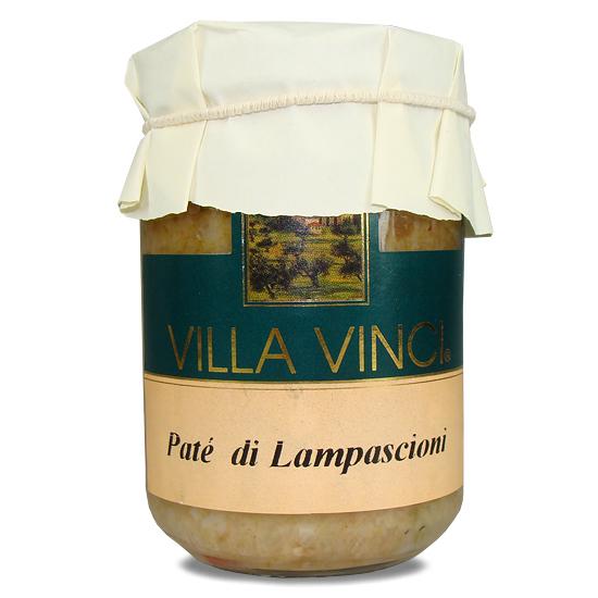 Pate di Lampascioni Villa Vinci / wilde Zwiebeln 130 g SUD ITALIA