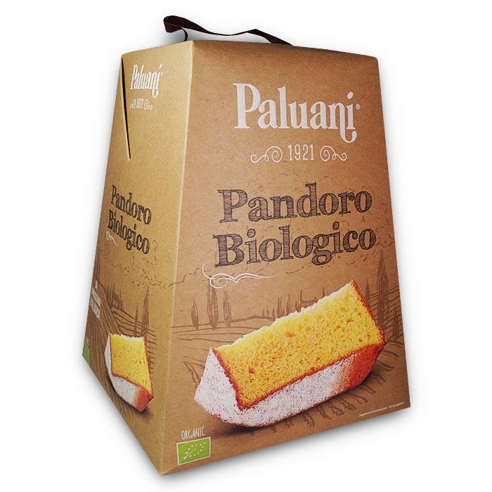 Pandoro Biologico Organic / Biologischer Weihnachtskuchen 750 g PALUANI