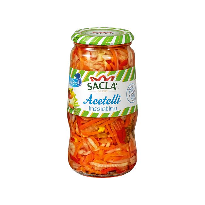 Acetelli Insalatina / Gemüse in Essig 290 g SACLA