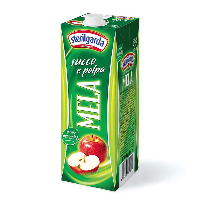 Succo e Polpa Mela / Apfelsaft 1 L STERILGARDA