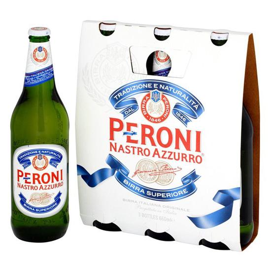 Birra Peroni 3x33cl NASTRO AZZURRO