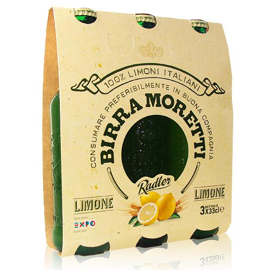 Birra Moretti Radler 3x33cl