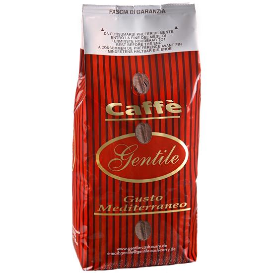 Caffe' Gentile in Grani 250 g Gusto Mediterraneo