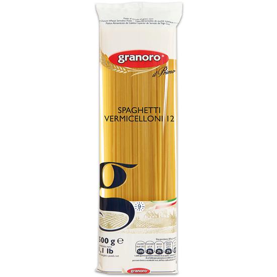 Granoro 12 Spaghetti Vermicelloni 500 g
