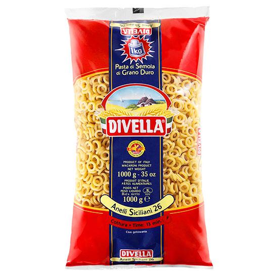 Divella 26 Anelli Siciliani / Nudeln 1 kg