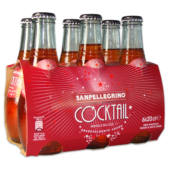 Cocktail 6 x 0,2 L SAN PELLEGRINO