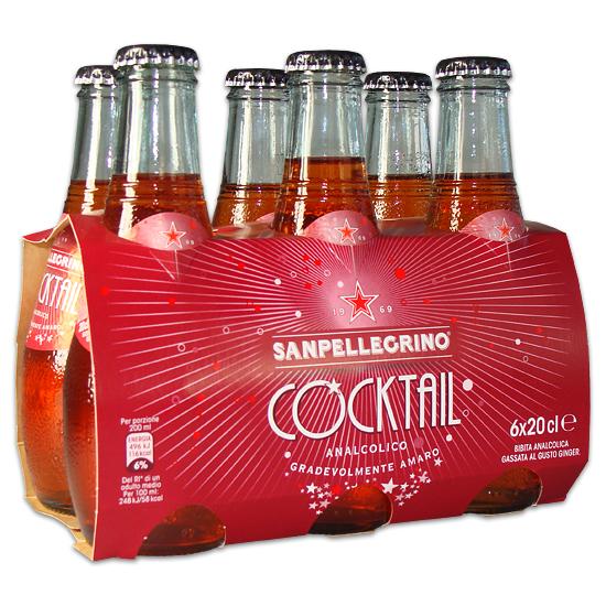 Cocktail 6 x 0,2 L SAN PELLEGRINO