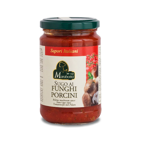 Sugo ai Funghi Porcini / Tomatensoße mit Pilzen 300 g MARABOTTO