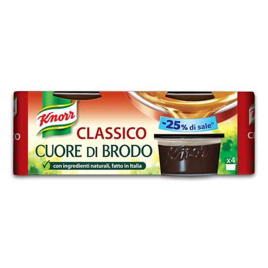Classico Cuore di Brodo / Bouillon 112 g KNORR