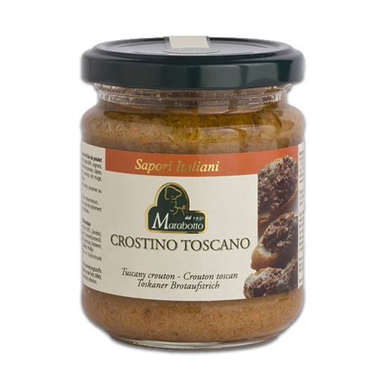 Crostino Toscano 180 g MARABOTTO / Toskanischer Brotaufstrich