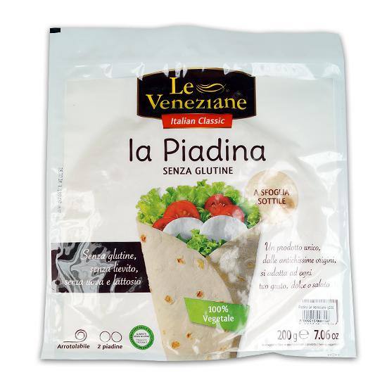 La Piadina 250 g Glutenfrei LE VENEZIANE