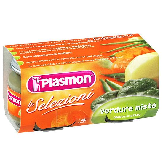 Plasmon Omo Verdure Miste / Mischgemüse 2 x 80 g