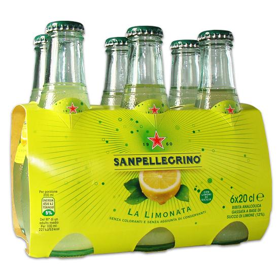 Limonata 6 x 0,2 L SAN PELLEGRINO