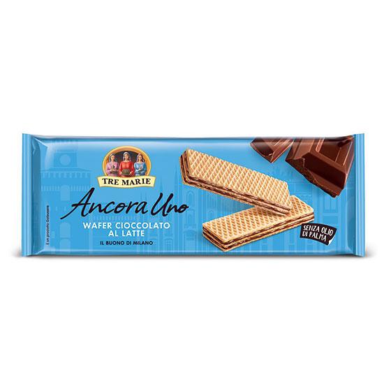 Wafer Cioccolato al Latte / Waffeln mit Milchschokolade 175 g TRE MARIE