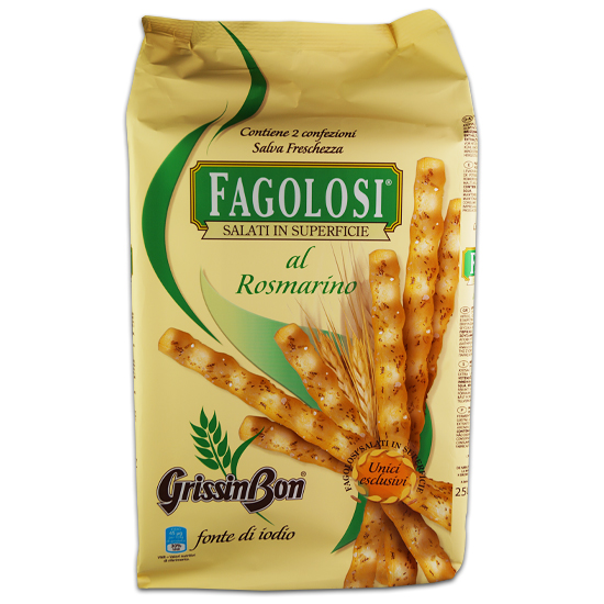 Grissini Fagolosi Rosmarino 250 g