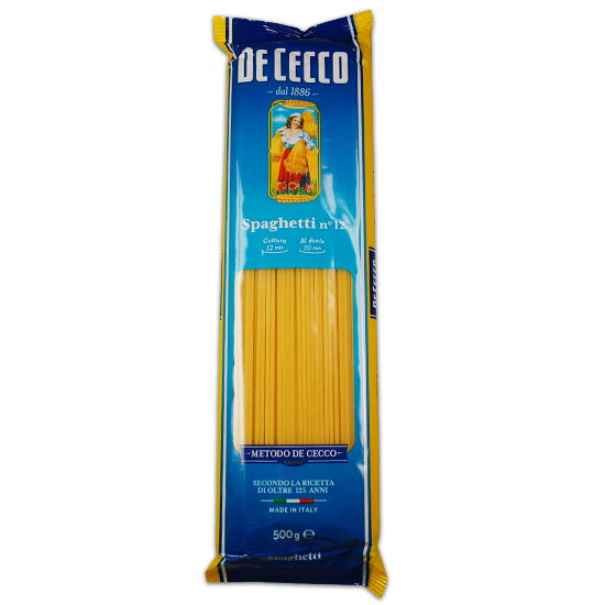 De Cecco 12 Spaghetti 500 g