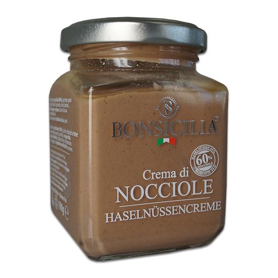 Crema di Nocciola / Haselnüsse Creme 190 g BONSICILIA