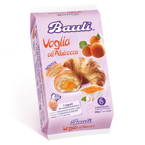 Croissant Voglia all albicocca 300 g BAULI